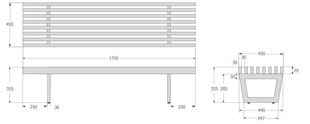 les dimensions des meubles de la gamme luxis cr ations. Black Bedroom Furniture Sets. Home Design Ideas